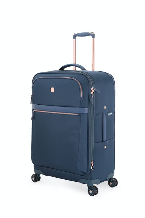 beaaa95faf56 Swissgear 7636 24 Geneva Expandable Liteweight Spinner Luggage - Legion Teal