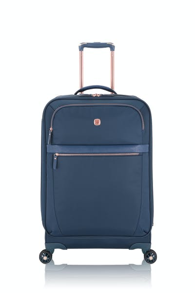 "Swissgear 7636 Geneva 24"" Expandable Liteweight Luggage - Legion Teal"
