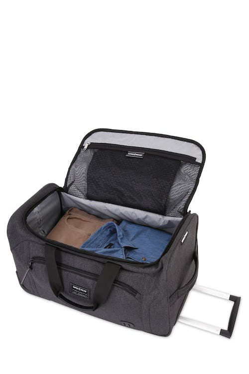 "Swissgear 7638 20"" Rolling Duffle Getaway Deep main compartment"