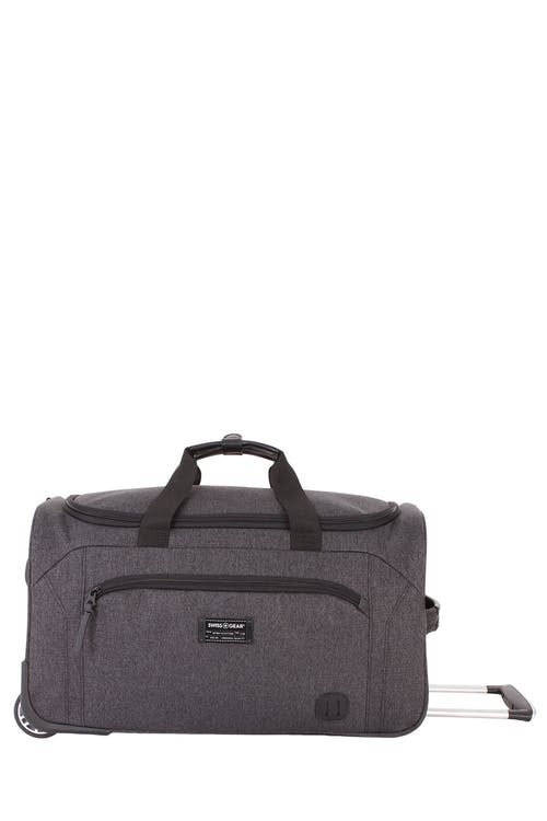 "Swissgear 7638 20"" Rolling Duffle Getaway Easily accessible exterior pocket"