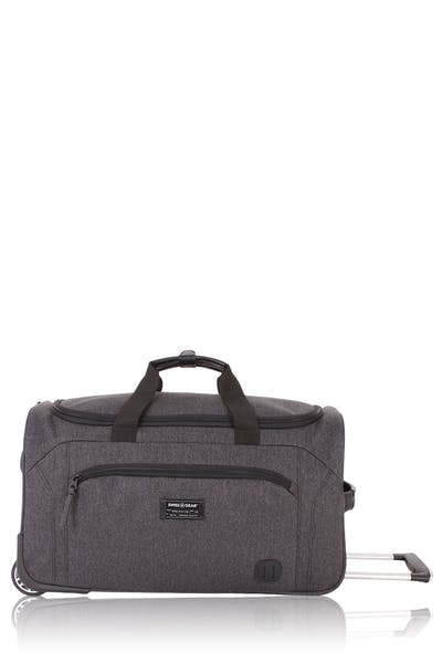 "Swissgear Getaway Luggage Collection 19"" Rolling Duffel Bag - Dark Grey"