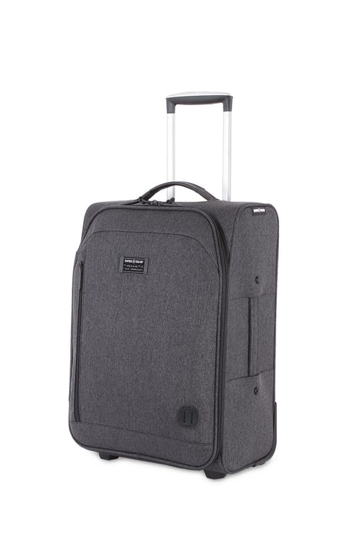 "Swissgear 7651 20"" Getaway Carry On Luggage - Dark Gray"