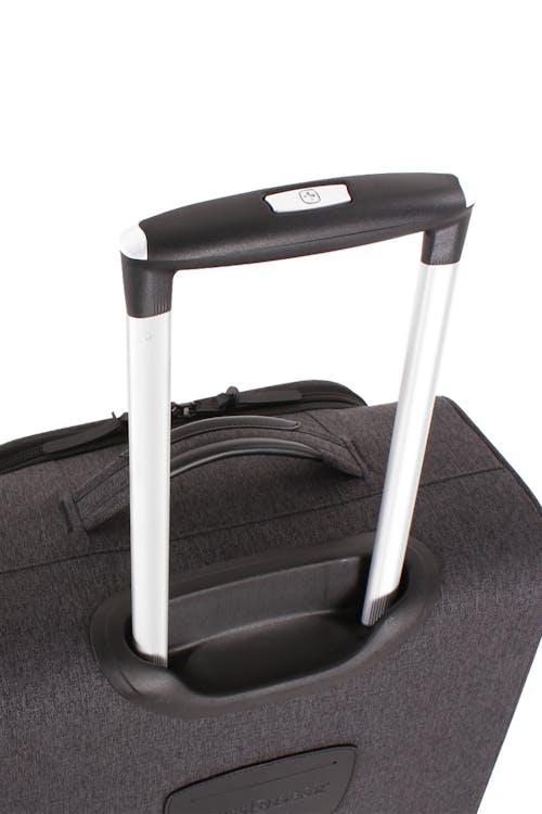 "Swissgear 7651 20"" Pilot Case Getaway Aluminum, push button locking telescopic handle"