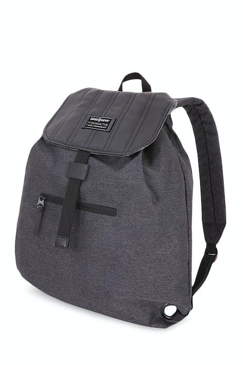 Swissgear 7658 Getaway Cinch Sack Backpack - Heather Gray