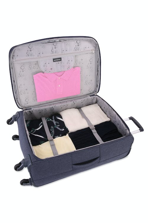 """SWISSGEAR 7660 25"""" Expandable Liteweight Spinner Luggage"""
