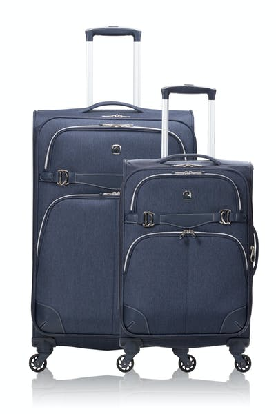 SWISSGEAR 7660 Expandable Liteweight Spinner Luggage 2pc Set