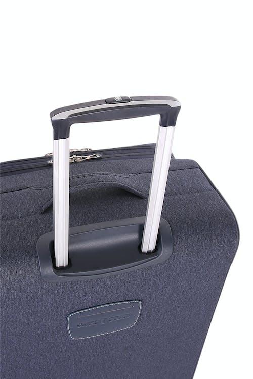 SWISSGEAR 7660 Expandable Liteweight Spinner Luggage Premium, telescopic aluminum locking handle
