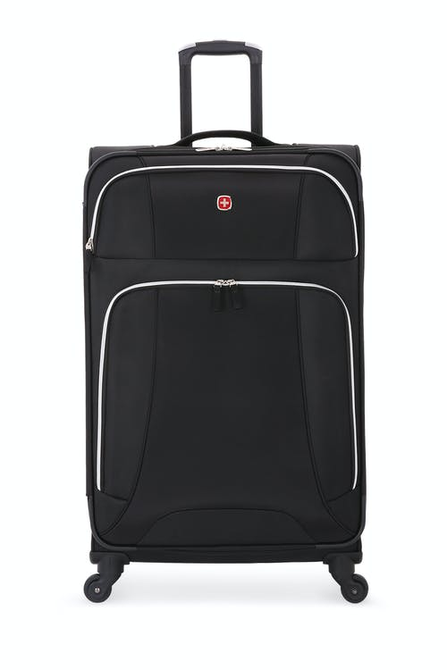 "SWISSGEAR 7676 29"" Expandable Spinner Luggage Two front panel pockets"