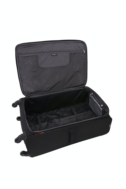 "SWISSGEAR 7676 29"" Expandable Spinner Luggage Adjustable clothing tie-down straps"