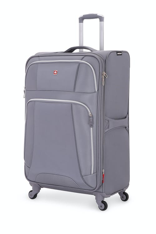 "SWISSGEAR 7676 29"" Expandable Spinner Luggage Charcoal/Silver"