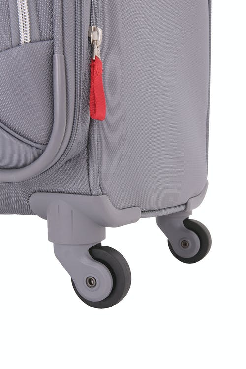 SWISSGEAR 7676 Expandable Spinner Luggage Four 360 degree, multi-directional liteweight spinner wheels