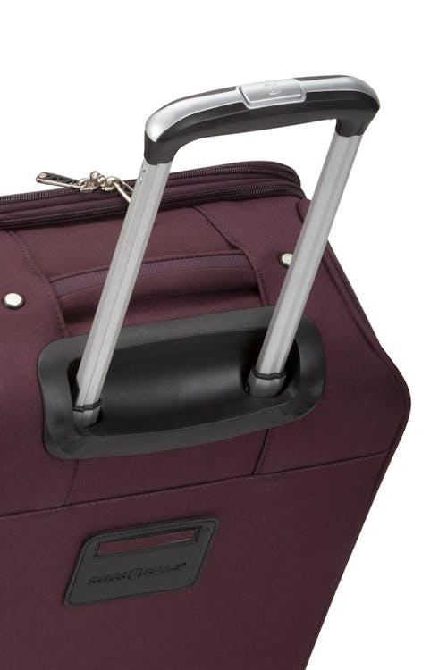 "Swissgear 7760 19"" 8-Wheel Spinner Retractable handle"