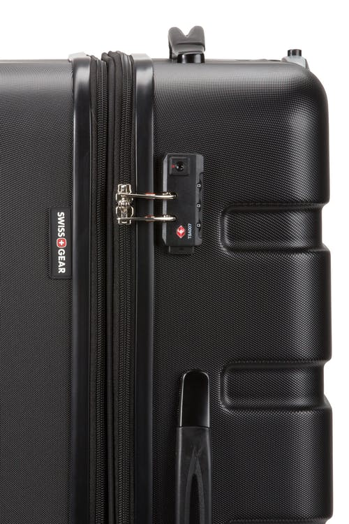 Swissgear 7366 Expandable Hardside Luggage TSA-approved combination lock