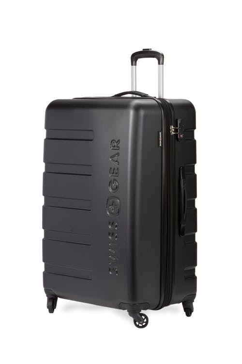 "Swissgear 7366 23"" Expandable Hardside Luggage - Black"