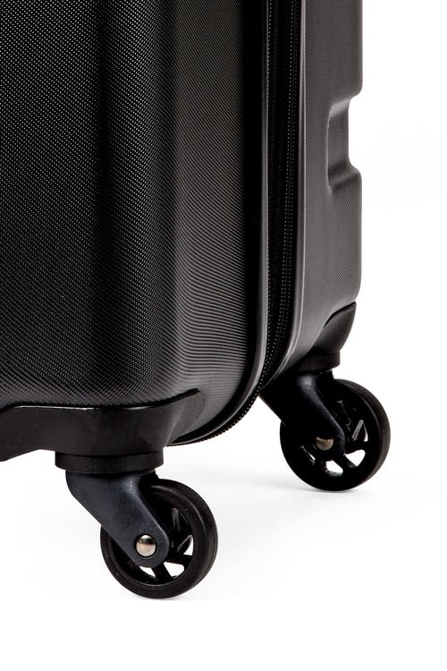 Swissgear 7366 Expandable Hardside Luggage Four 360-degree wheels for easy maneuverability