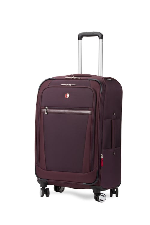 "Swissgear 7760 24"" Expandable Spinner Luggage - Purple"