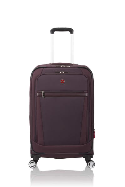 "Swissgear 7760 24"" 8-Wheel Spinner Luggage - Purple"