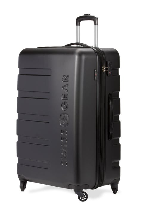 "Swissgear 7366 27"" Expandable Hardside Luggage - Black"