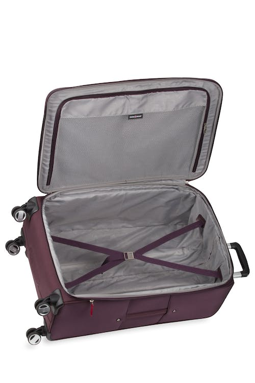 "Swissgear 7760 28"" 8-Wheel Spinner Second additional compartment"