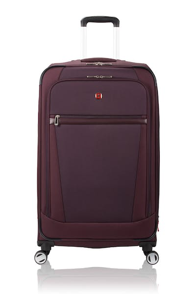 "Swissgear 7760 28"" Expandable Spinner Luggage - Purple"