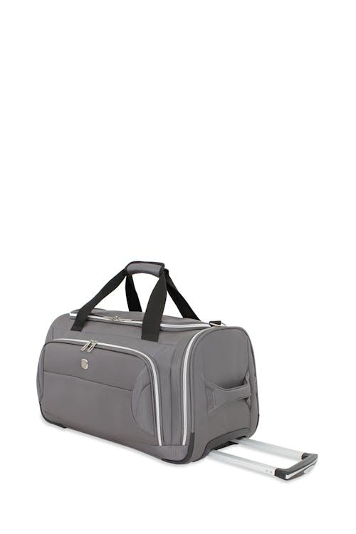 "Swissgear 7850 Checklite 22"" Wheeled Duffel Bag Zippered mesh accessory pockets"