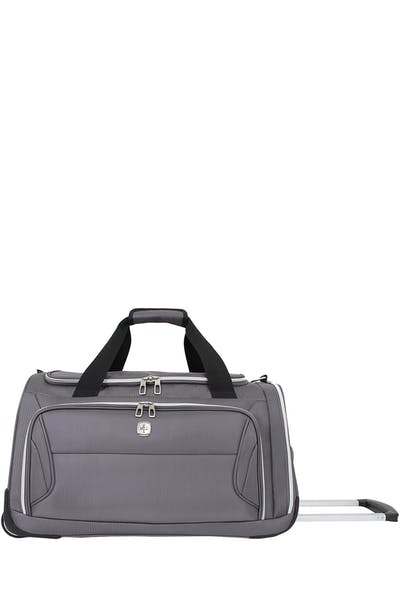 "Swissgear 7850 22"" Checklite Wheeled Duffel Bag - Charcoal"