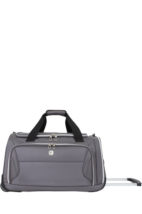 "Swissgear 7850 Checklite 22"" Wheeled Duffel Bag - Charcoal"