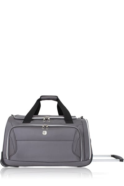 "Swissgear 7850 22"" Checklite Wheeled Duffel Bag - Charcoal"