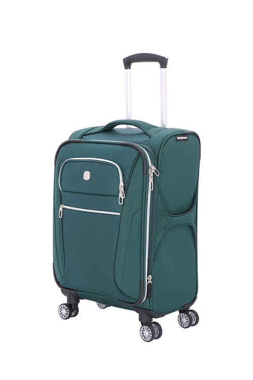 "Swissgear 7850 Checklite 24.5"" Expandable Liteweight Upright Luggage - June Bug Green"