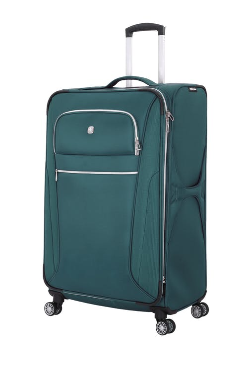 "Swissgear 7850 Checklite 29"" Expandable Liteweight Upright Luggage - June Bug Green"