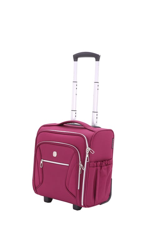 Swissgear 7850 Checklite Liteweight Underseat Luggage - Wine Romance