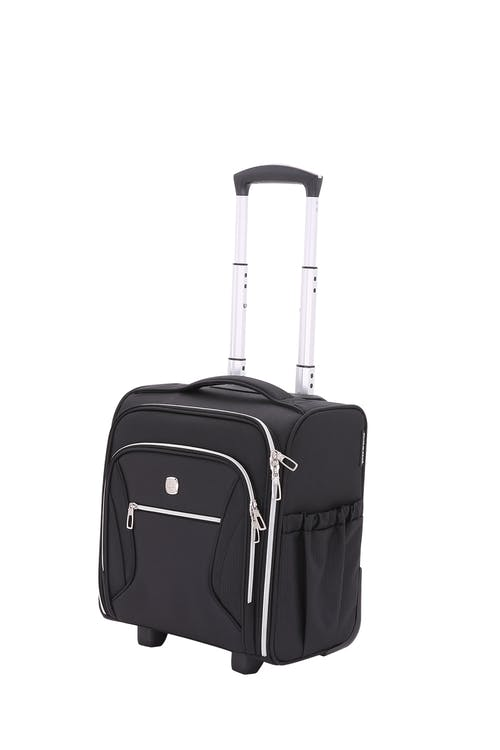 Swissgear 7850 Checklite Liteweight Underseat Luggage - Black