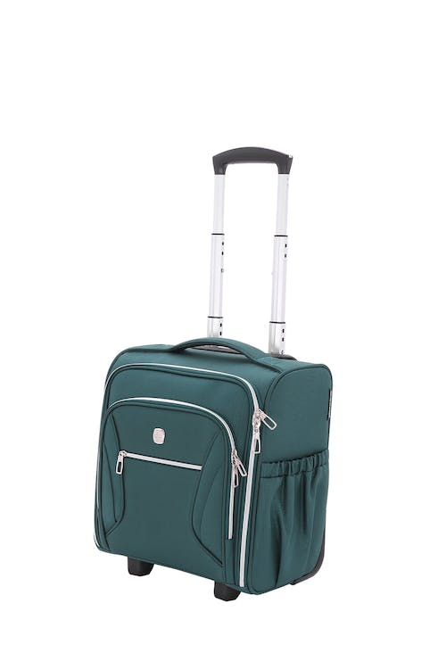 Swissgear 7850 Checklite Liteweight Underseat Luggage - June Bug Green