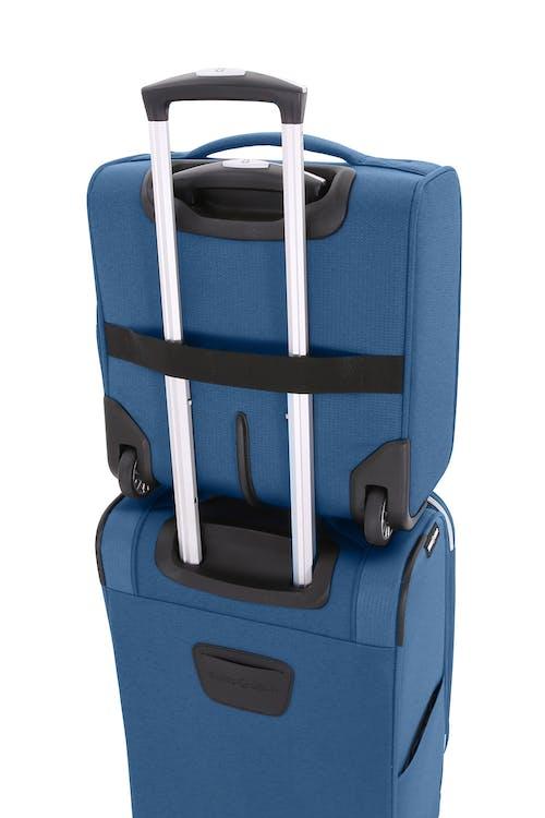 Swissgear 7850 Checklite Liteweight Underseat Luggage add-a-bag feature