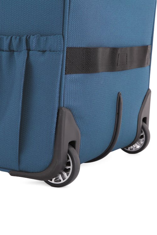Swissgear 7850 Checklite Liteweight Underseat Luggage Quiet wheels for easy glide and travel