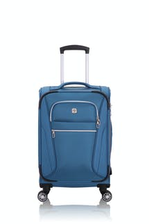 "Swissgear 7850 Checklite 20"" Expandable Liteweight Pilot Case Luggage - Atlantic Blue"
