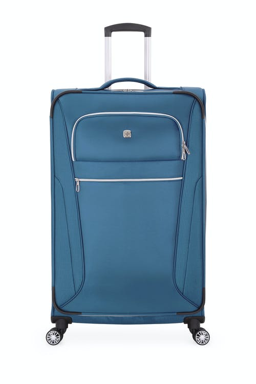 """Swissgear 7850 Checklite 29"""" Upright Two front panel pockets with silver tone zippers"""