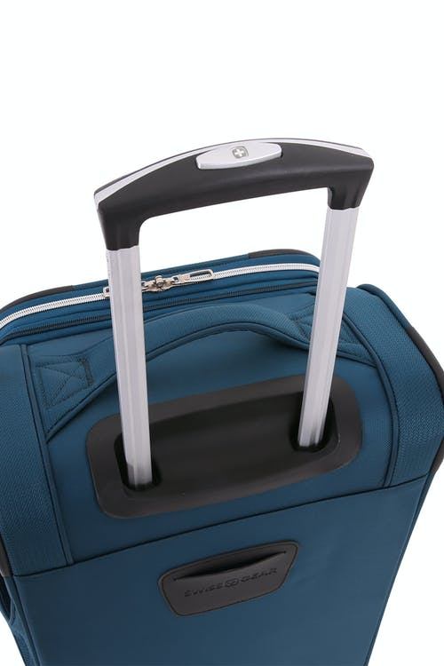 "Swissgear 7850 Checklite 24.5"" Expandable Liteweight Upright Luggage Aluminum, push button locking telescopic handle"