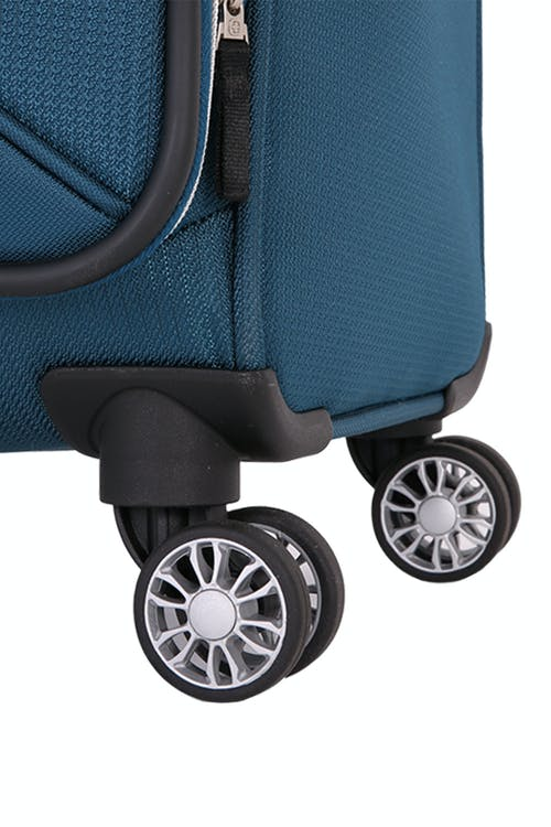"Swissgear 7850 Checklite 24.5"" Expandable Liteweight Upright Luggage Eight 360 degree, multi-directional spinner wheels"