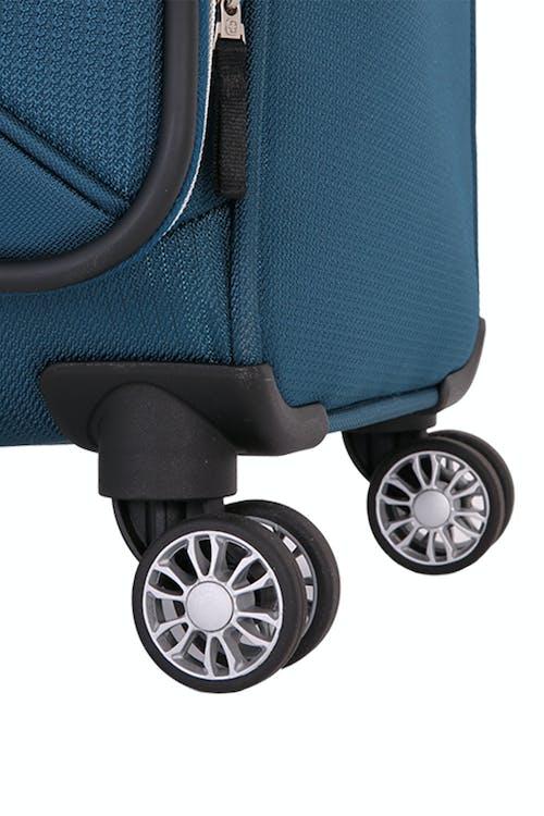 "Swissgear 7850 Checklite 24"" Upright Eight 360 degree, multi-directional spinner wheels"