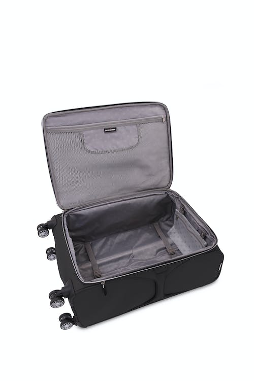 """Swissgear 7850 20"""" Checklite Expandable Liteweight Luggage Open View"""