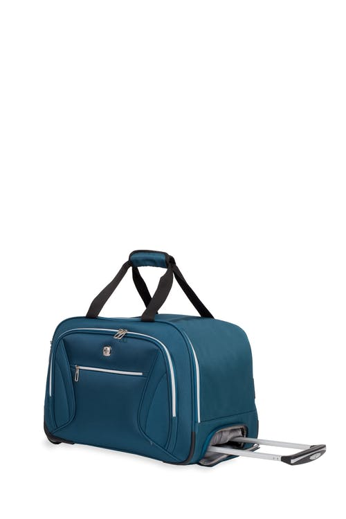 "Swissgear 7850 Checklite 19"" Wheeled Duffel Bag - Teal"