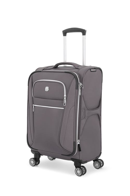 """Swissgear 7850 20"""" Checklite Expandable Carry On Spinner Luggage"""
