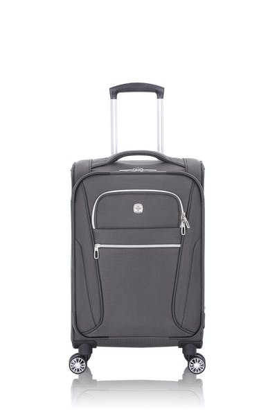 "Swissgear 7850 20"" Checklite Expandable Carry On Spinner Luggage"