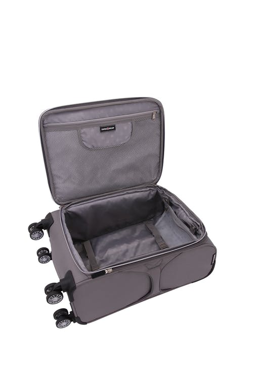 """Swissgear 7850 Checklite 20"""" Expandable Liteweight Pilot Case Luggage Large interior zippered mesh pocket"""