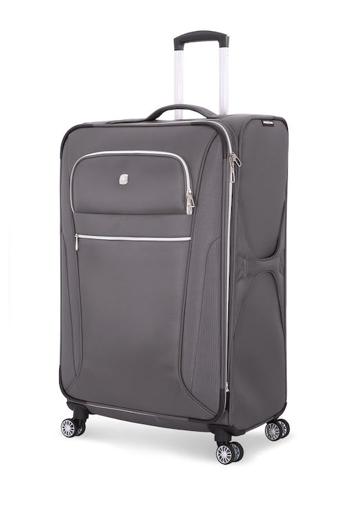 "Swissgear 7850 Checklite 29"" Expandable Liteweight Upright Luggage - Gray"