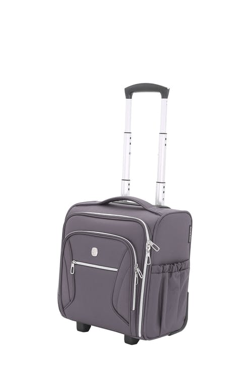 Swissgear 7850 Checklite Liteweight Underseat Luggage - Gray