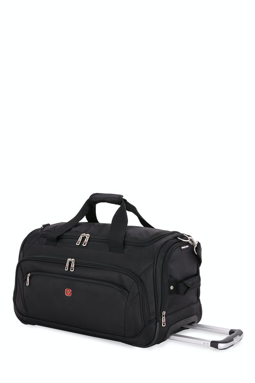 "Swissgear 7895 Zurich 22"" Wheeled Duffle Zippered mesh accessory pocket"