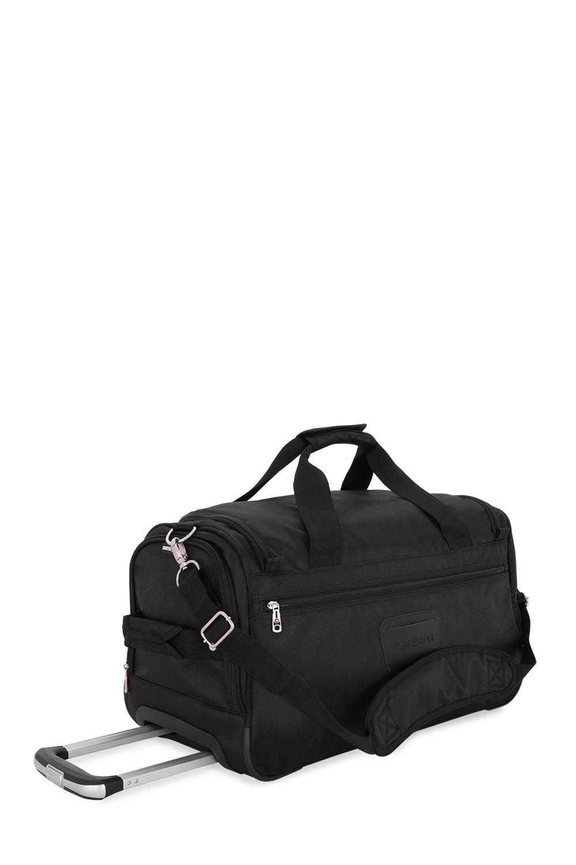 Black SwissGear Getaway Sport Duffel Bag