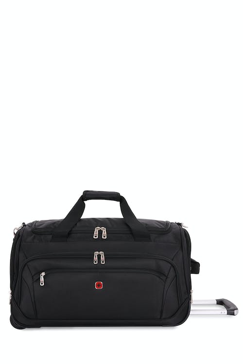 "Swissgear 7895 Zurich 22"" Wheeled Duffle  Five exterior panel pockets for easy access"